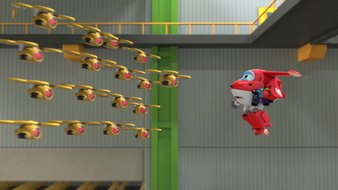 Superwings contre Superdrones