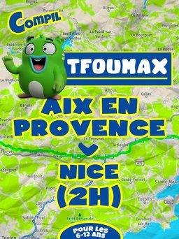 Regarder Aix en Provence - Nice en vidéo
