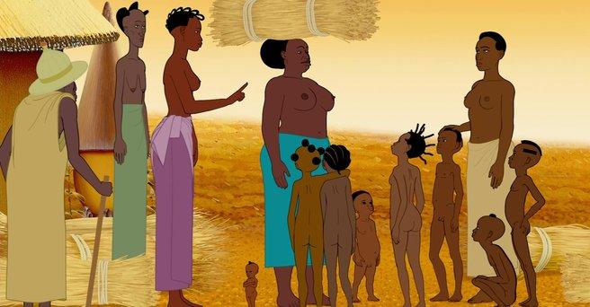Regarder: Kirikou et les hommes et les femmes