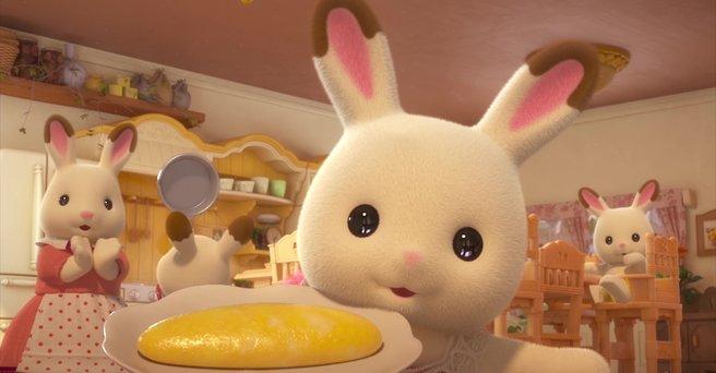 Regarder: Bonjour la famille lapin chocolat !
