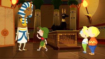 Martin et les pharaons fâchés