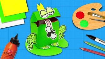 Des  grenouilles folles