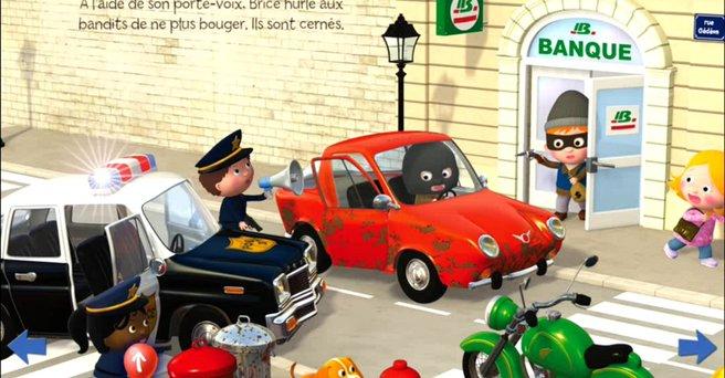Regarder: La voiture de police de Brice