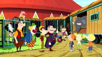 Martin et le cirque des bêtises