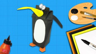 Une famille pingouins