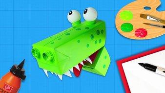 Un crocodile bavard