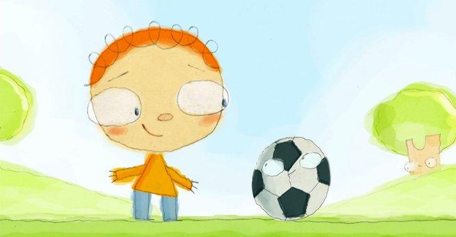 Regarder: Un ballon de foot