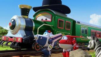 Le train volant