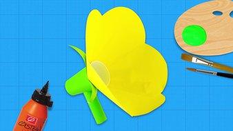 Un mégaphone en fleur