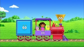 Dora reconstitue le petit train !
