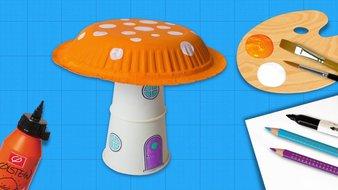 Une maison champignon