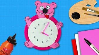 Un ours pendule