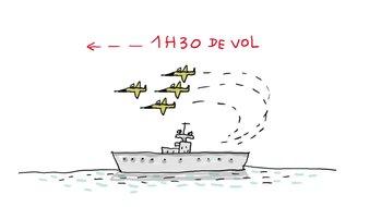 Pourquoi parle-t-on du porte-avions Charles-de-gaulle ?