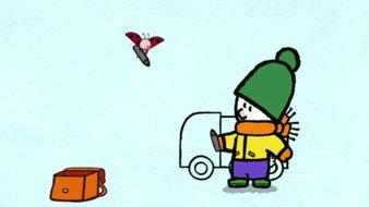 Didou, dessine-moi un chasse-neige