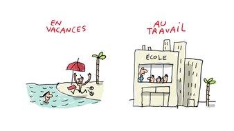 Pourquoi les écoliers français ne sont pas en vacances en même temps ?