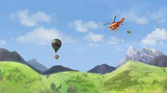 Un tour en montgolfière