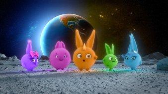 Les bunnies sur la Lune