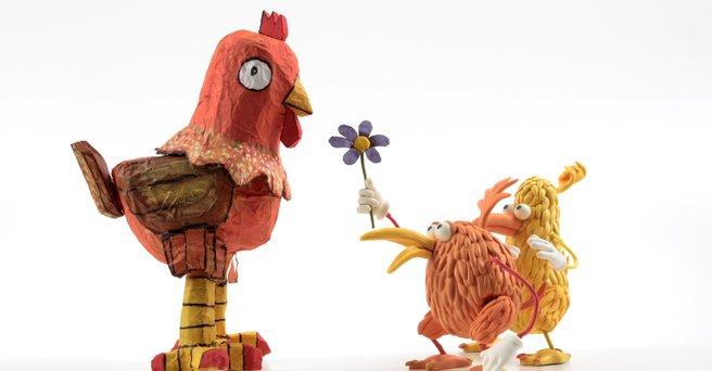 Regarder: Quel gros poulet