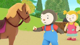 L'initiation au poney