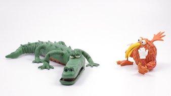 Le bébé crocodile