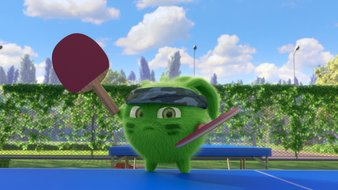 La star du ping-pong