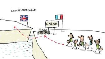 Pourquoi les migrants sont-ils bloques à calais ?