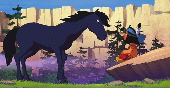 Regarder: Le cheval Bleu