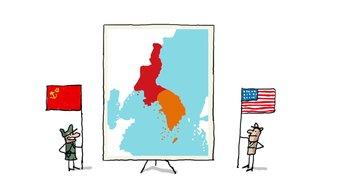 Pourquoi la Corée est séparée en deux ?
