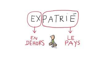 C'est quoi  un expatrie ?