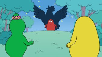 La vilaine poule géante