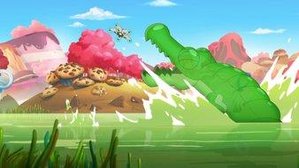 La course Bubble-Gum