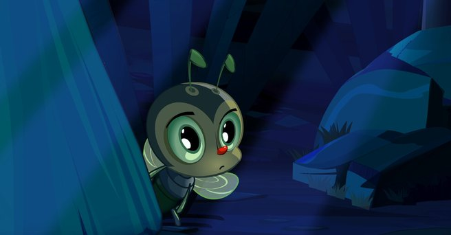 Regarder: Histoire frissonnante de la forêt sombre et du petit insecte