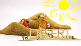 La boutique du désert