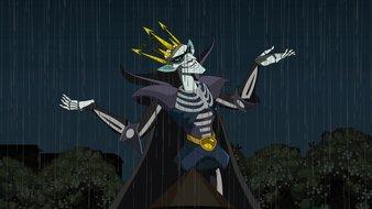 La terrible légende sur les éclairs et le tonnerre
