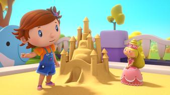 Le monstre des châteaux de sable