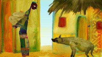 La hyène et l'aveugle
