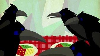 Les sept corbeaux
