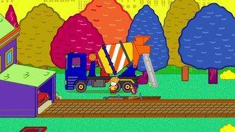 Didou construis-moi un camion toupie