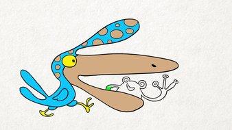 L'oiseau qui a faim