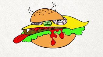 Le burger monstre