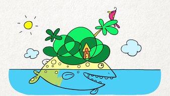 L'île poisson