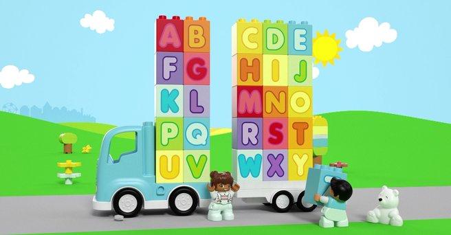 Regarder: La chanson de l'alphabet