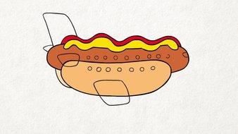 L'avion hot-dog