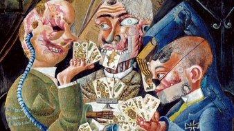Estropiés de guerre jouant aux cartes