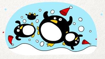 Pluie de pingouins
