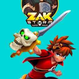 avatar Zak Storm, super pirate