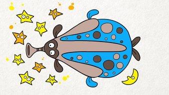 L'extraterrestre poisson
