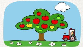 Les pommes volantes