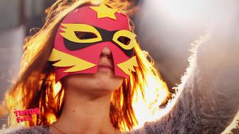 Masques en super 3 D