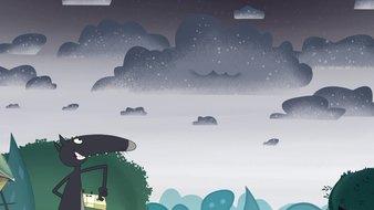 Le loup qui voulait peindre les nuages